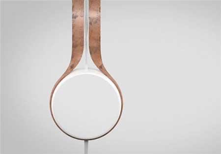طراحی هدفون مسی فوق حرفه ای (عکس)