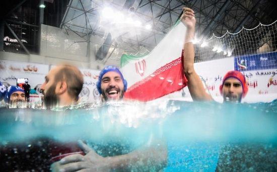 قهرمانی ایران در مسابقات جهانی واترپلو