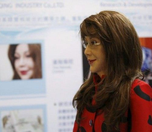 باورتان می شود این خانم یک ربات باشد؟ + عکس