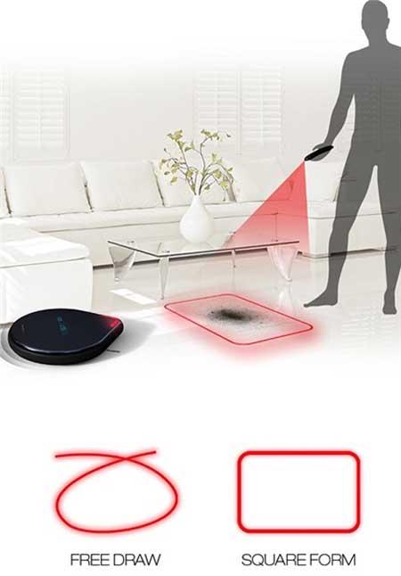 نظافت منزل با مورچه ربات + تصاویر