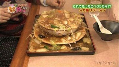 تصاویری از پر حجم ترین غذاهای کشور ژاپن