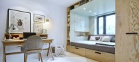 چگونه از یک اتاق کوچک بهترین استفاده را کنیم؟
