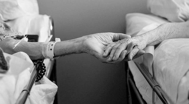 زوج عاشق با هم دنیا را ترک کردن (+عکس)
