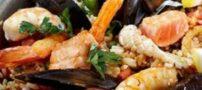 میگو پلو و سبزیجات، غذایی با طعم متفاوت