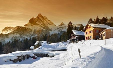 کوهستان هایی که در تابستان هم سفیدپوش هستند + تصاویر