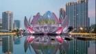 طراحی بنایی زیبا به شکل گل نیلوفر در چین