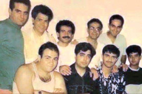 رامبد جوان و بازیگران ایرانی در یک قاب قدیمی