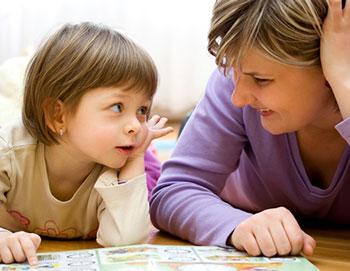 روش پاسخگویی به سوالات مکرر کودک