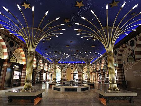 عکس های دیدنی از بزرگ ترین مرکز خرید جهان در دبی