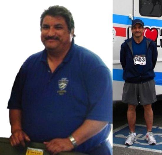 عکس هایی از قبل و بعد از ورزش افراد مختلف