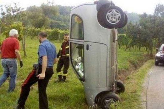 عکس های دیدنی از عجیب ترین تصادفات رانندگی