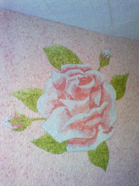 تصاویری از تزئین دیواری با بلکا