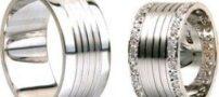مدل های جدید و زیبای حلقه طلا سفید