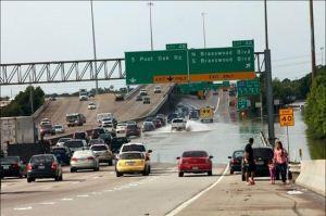 عکس های دیدنی از سیل در تگزاس آمریکا