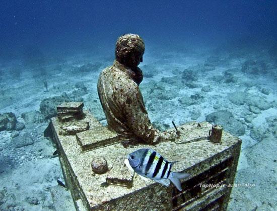 بزرگترین موزه دنیا در زیر آب (+عکس)
