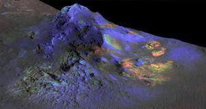 پیدا کردن شیشه در مریخ توسط ناسا