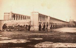 عکس قدیمی از تاسیس تلفنخانه در اصفهان قدیم