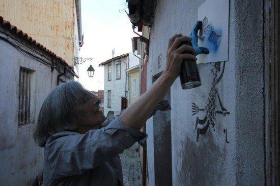 دیوارهایی که دفتر نقاشی مادربزرگ ها شده اند!