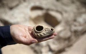 کشف کلیسای 1500 ساله پس از تعریض جاده (عکس)