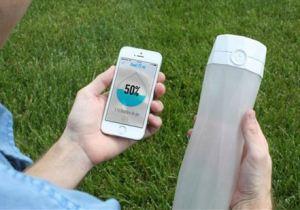 این بطری آب مراقب سلامتی انسان است