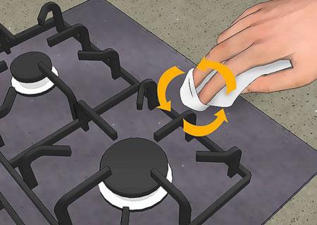 روش تمیز کردن و نگهداری از اجاق گاز