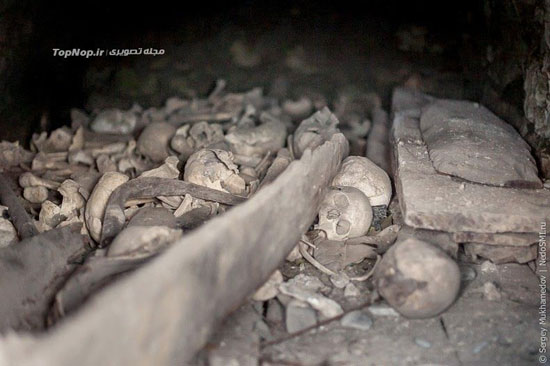 جاذبه توریستی شهر مردگان در روسیه + تصاویر