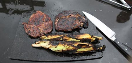 آشپزی جالب با گدازه های آتشفشانی