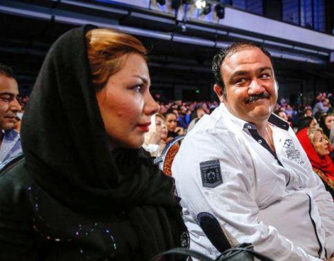 عکس های جالب از مهران غفوریان و همسرش