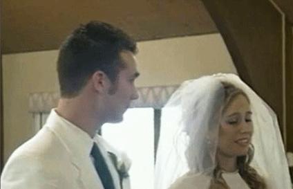 وقتی عروس در مراسم ازدواج غش می کند + عکس