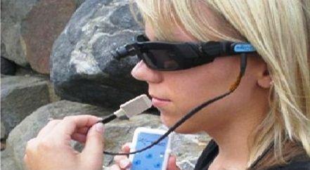 فناوری که افراد نابینا با آن قادر به دیدن از طریق زبان هستند