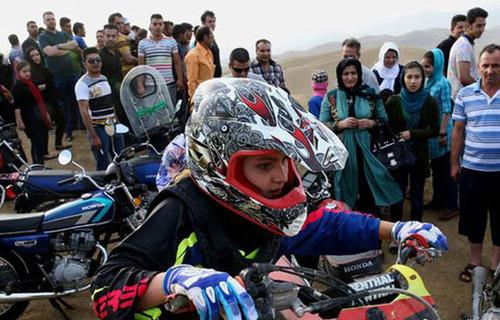 عکس های جالب و دیدنی از دختر موتورسواری ایرانی