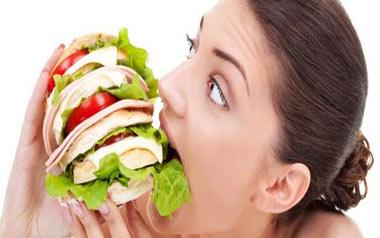 رژیم غذایی سریع برای چاق شدن