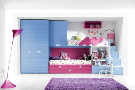 عکس هایی از جالب ترین چیدمان اتاق کودک