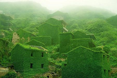 روستایی که هم جنس طبیعت شده است + تصاویر