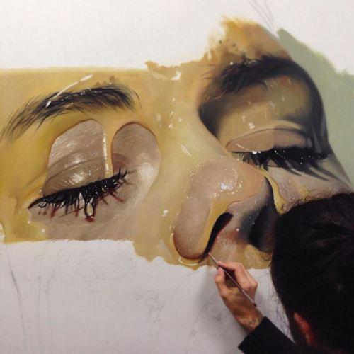 نقاشی های زیبا و نزدیک به واقعیت