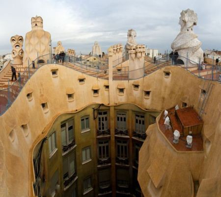 عکس های دیدنی از زیباترین پشت بام های دنیا