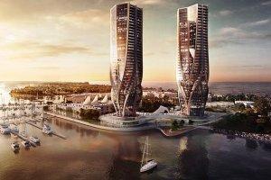 مدیر ایرانی در استرالیا برج های دوقلو می سازد + عکس