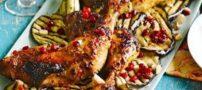 ران مرغ خوشمزه با آجیل برزیلی