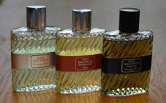 نمونه هایی از برترین ادکلن ها و عطرها
