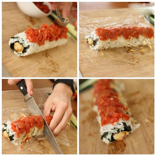 آموزش طرز تهیه سوشی