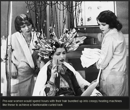 عکس هایی از ملزومات آرایش در دوران قدیم