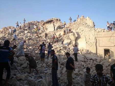 از بین بردن مرقد یونس نبی توسط داعش + عکس