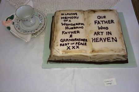 کیک مراسم تشییع جنازه بازار آمد (+عکس)