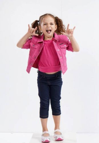 عکس های دیدنی دنیز کوچولو در سریال روزی روزگاری
