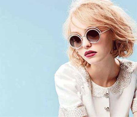 دختر جذاب جانی دپ مدل جدید برند Chanel