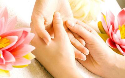 اندام ها را از کف دست درمان کنيد