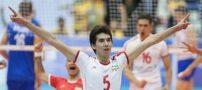 سوژه شدن حرکت عجیب والیبالیست ایرانی (عکس)