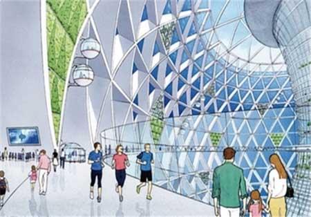 پروژه ساخت شهر زیر آب در ژاپن + تصاویر