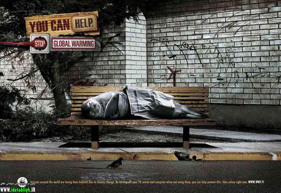عکس های دیدنی از تبلیغات جالب و مبتکرانه