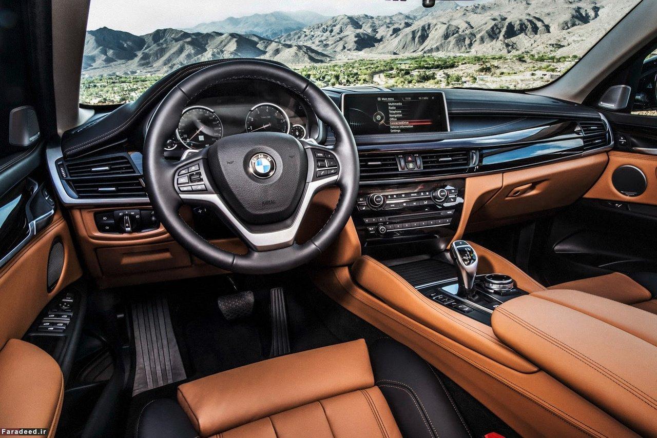 خودروی بی ام و X6 سلطان جاده ها ( + تصاویر)